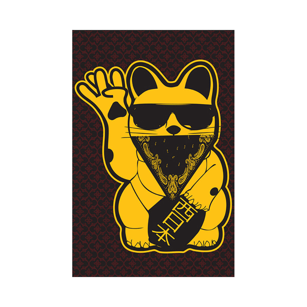 <!--020120207041030-->Mixer Friendly Positive Apparel - 'West Cat' [Posters & Prints]