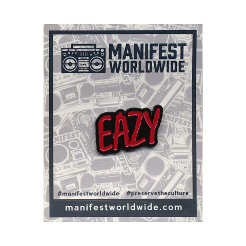 Manifest - 'Eazy' [(Black) Pin]
