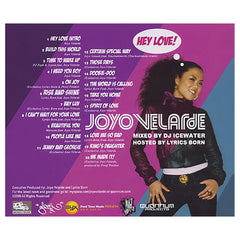 Joyo Velarde (Mixed By: DJ Icewater) (Hosted By: Lyrics Born) - 'Hey Love!' [CD]