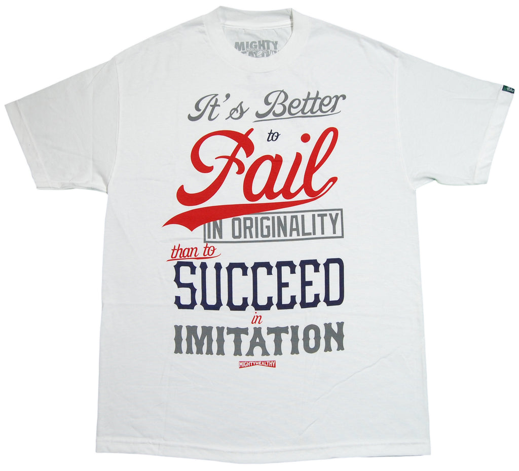 <!--2012100246-->Mighty Healthy - 'PS Fail' [(White) T-Shirt]
