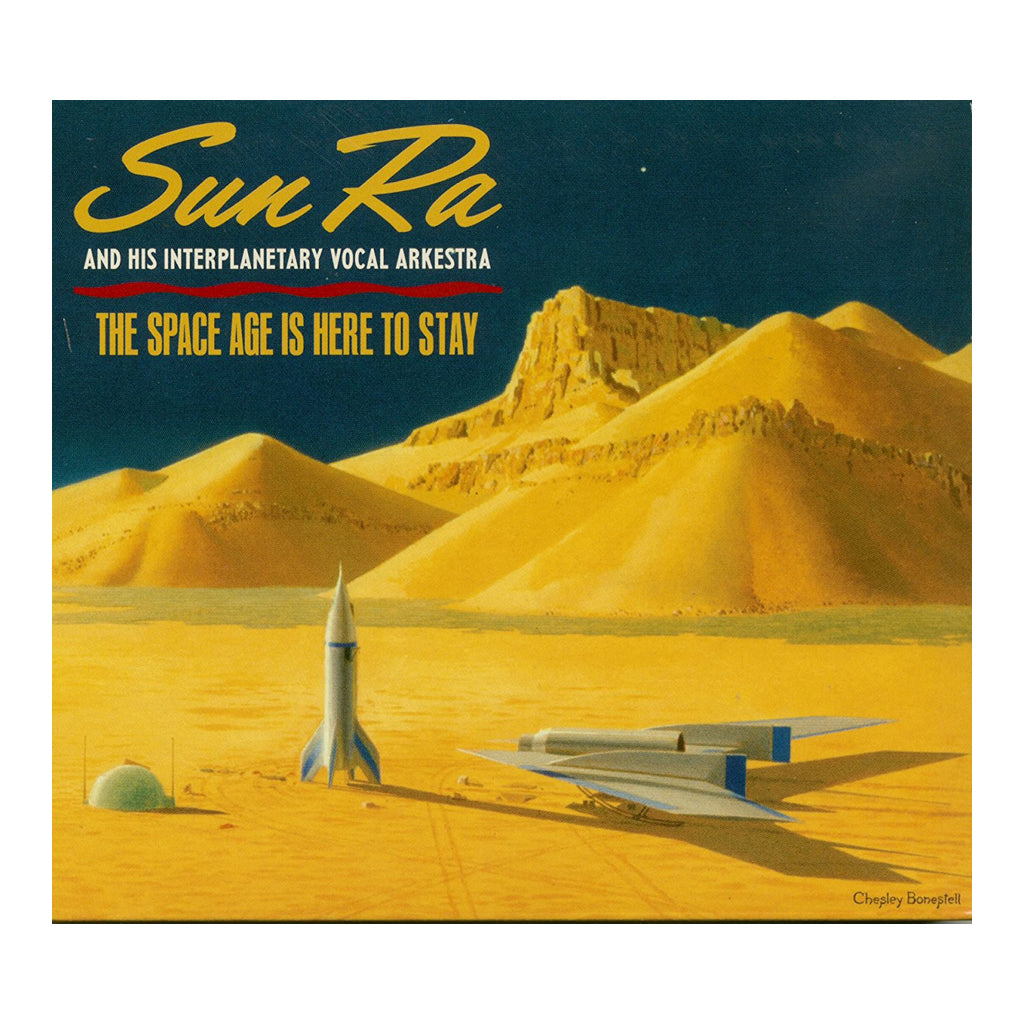 Sun Ra & His Intergalactic Vocal Arkestra - 'The Space Age Is Here To Stay' [(Black) Vinyl [2LP]]