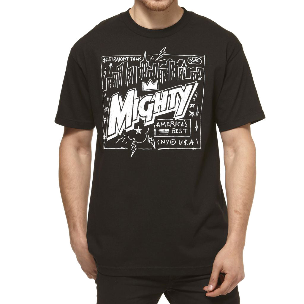 <!--2014073038-->Mighty Healthy - 'City Crown' [(Black) T-Shirt]