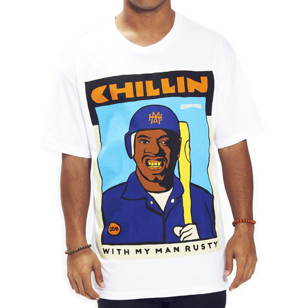 <!--2014073013-->Mighty Healthy (Ol' Dirty Bastard of Wu-Tang Clan) - 'Rusty' [(White) T-Shirt]