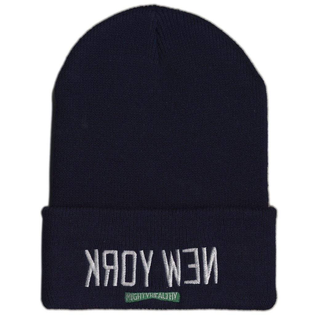 <!--020120501044000-->Mighty Healthy - 'Kroy Wen' [(Dark Blue) Winter Beanie Hat]