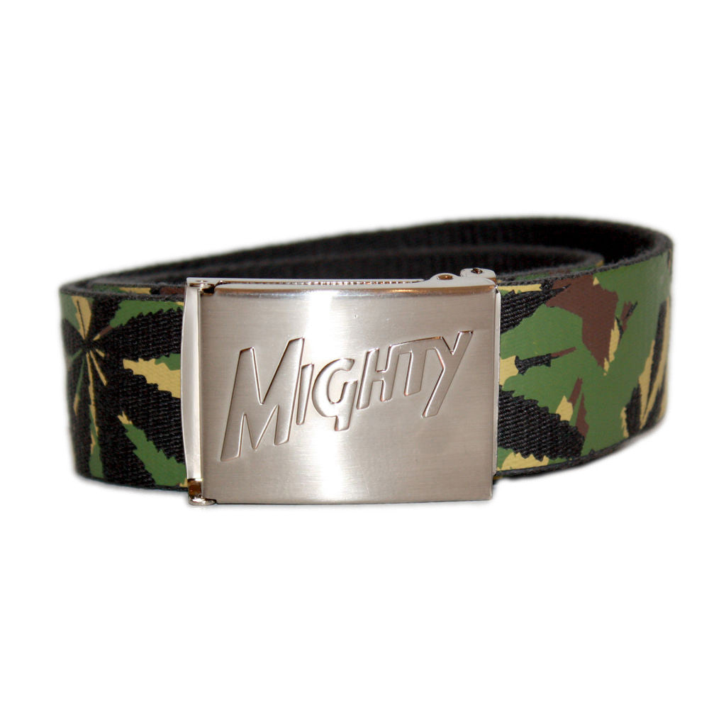 <!--020140319063007-->Mighty Healthy - 'Weed' [(Camo Pattern) Belt]