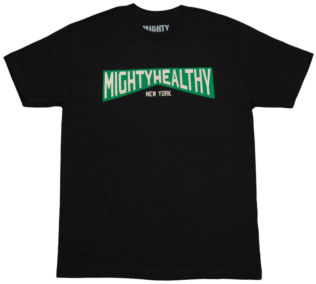 <!--2011112250-->Mighty Healthy - 'Mighty NY' [(Black) T-Shirt]