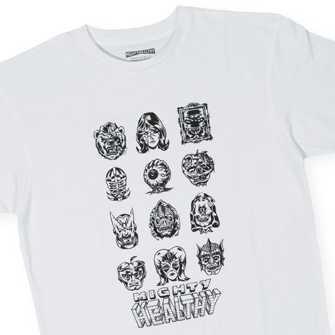 Mighty Healthy x Mishka NYC - 'Scavengers' [(White) T-Shirt]