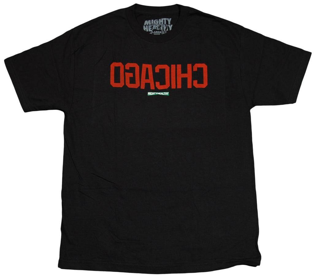 <!--2012030619-->Mighty Healthy - 'Ogacihc' [(Black) T-Shirt]