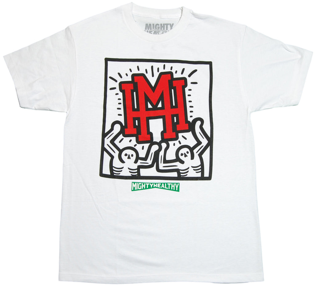 <!--2011112205-->Mighty Healthy - 'Shine' [(White) T-Shirt]