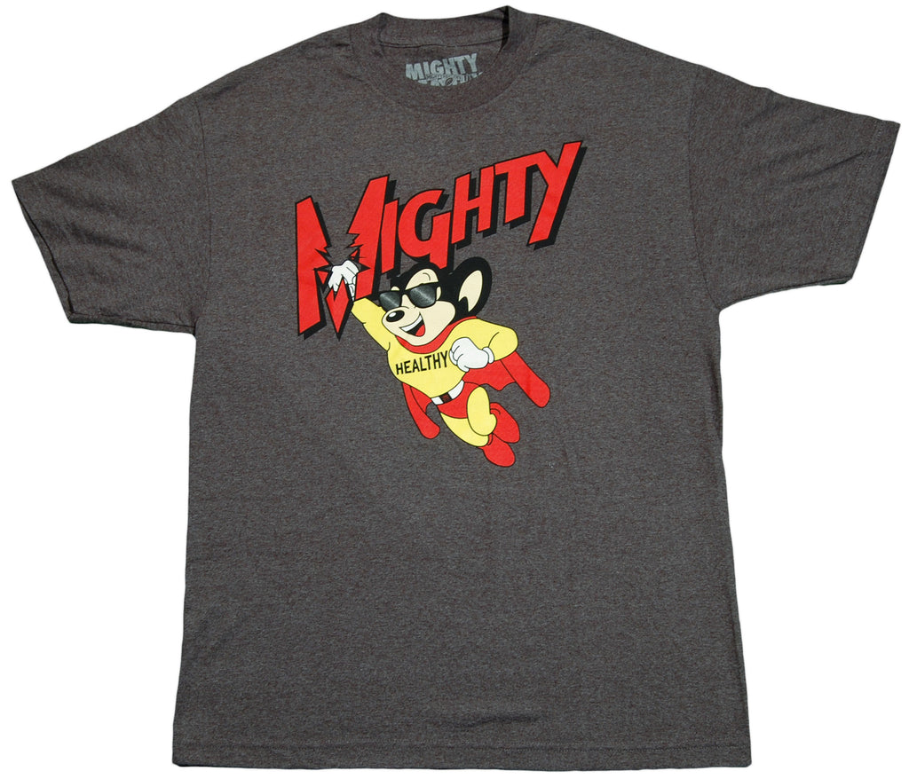 <!--2011112219-->Mighty Healthy - 'Flight' [(Dark Gray) T-Shirt]