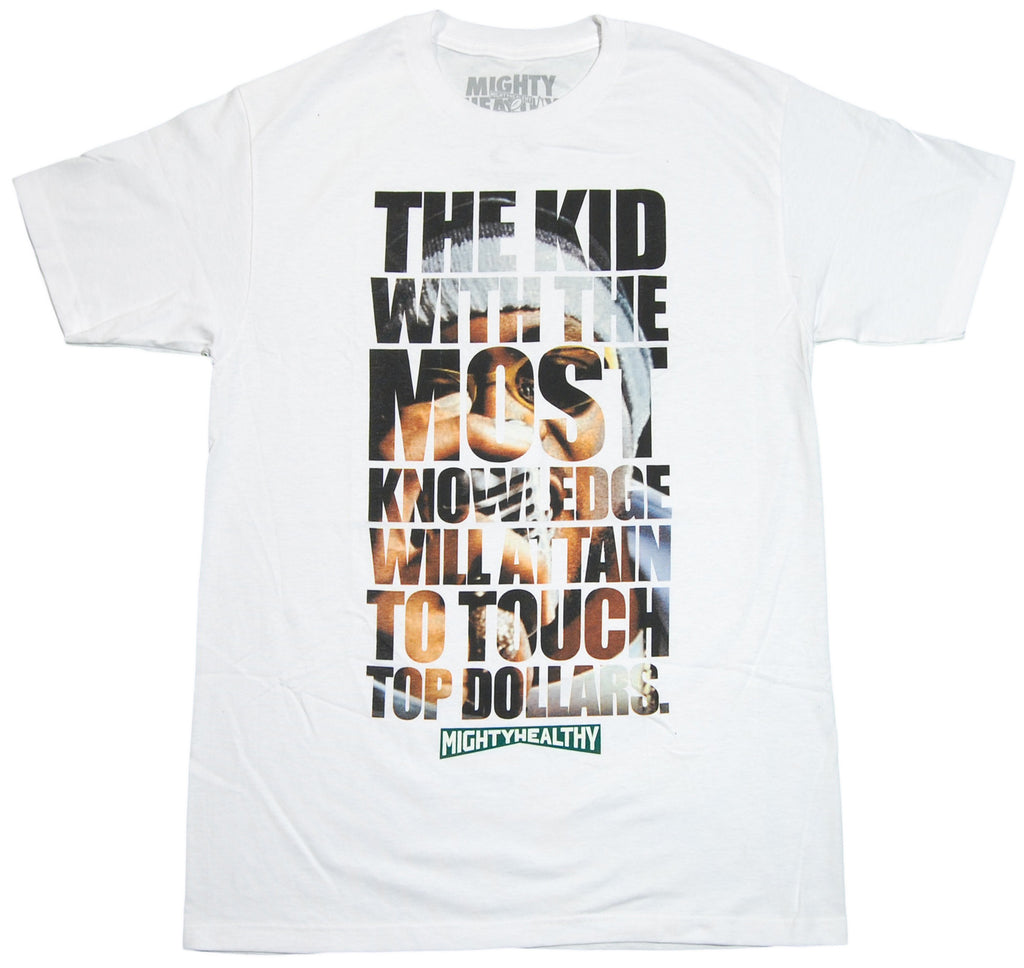 <!--2011112213-->Mighty Healthy (Ghostface Killah of Wu-Tang Clan) - 'Clientele' [(White) T-Shirt]