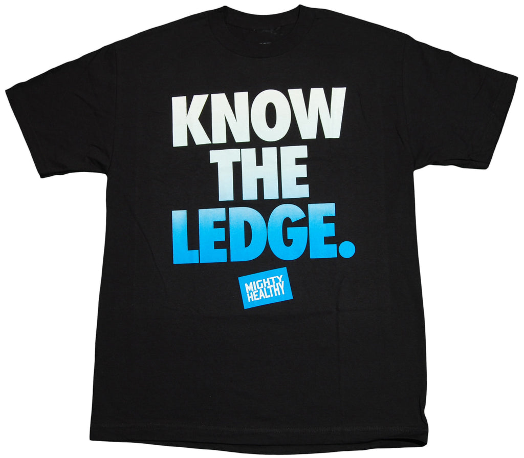 <!--2011112211-->Mighty Healthy - 'Knowledge' [(Black) T-Shirt]