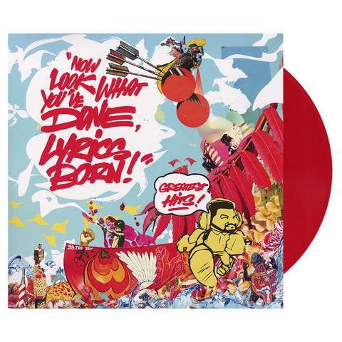 "[""Lyrics Born - 'Now Look What You've Done, Lyrics Born! Greatest Hits!' [(Clear Red) Vinyl [2LP]]""]"