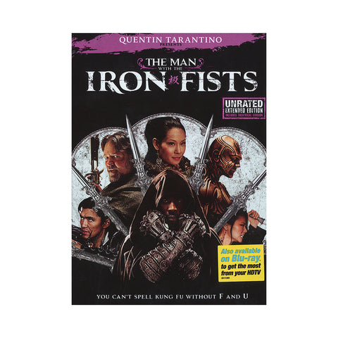 "[""The Man With The Iron Fists - 'The Man With The Iron Fists: Unrated Extended Edition' [DVD]""]"