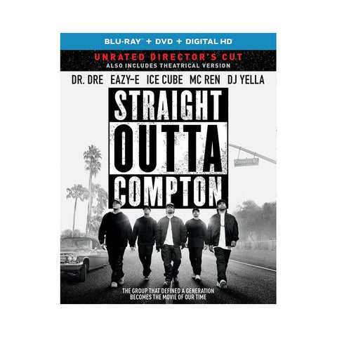 "[""Straight Outta Compton - 'Straight Outta Compton (Unrated Director's Cut)' [Blu-ray]""]"