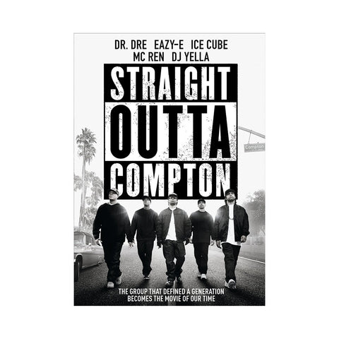 'Straight Outta Compton' [DVD]