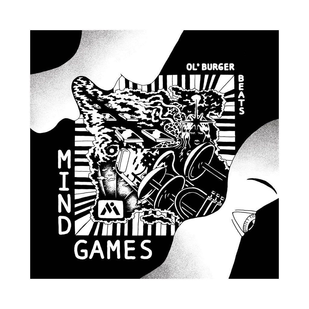 Ol' Burger Beats - 'Mind Games' [(Black) Vinyl LP]