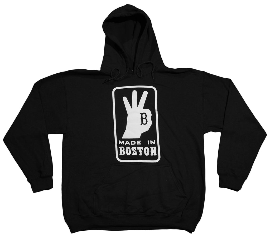Made In Boston - 'Made In Boston' [(Black) Hooded Sweatshirt]