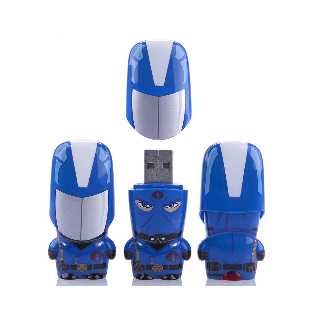 <!--020120710049978-->MIMOBOT x G.I. JOE - 'Cobra Commander - 8GB' [USB Memory Drive]