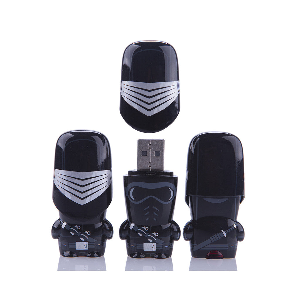 <!--020120710049977-->MIMOBOT x G.I. JOE - 'Snake Eyes - 8GB' [USB Memory Drive]
