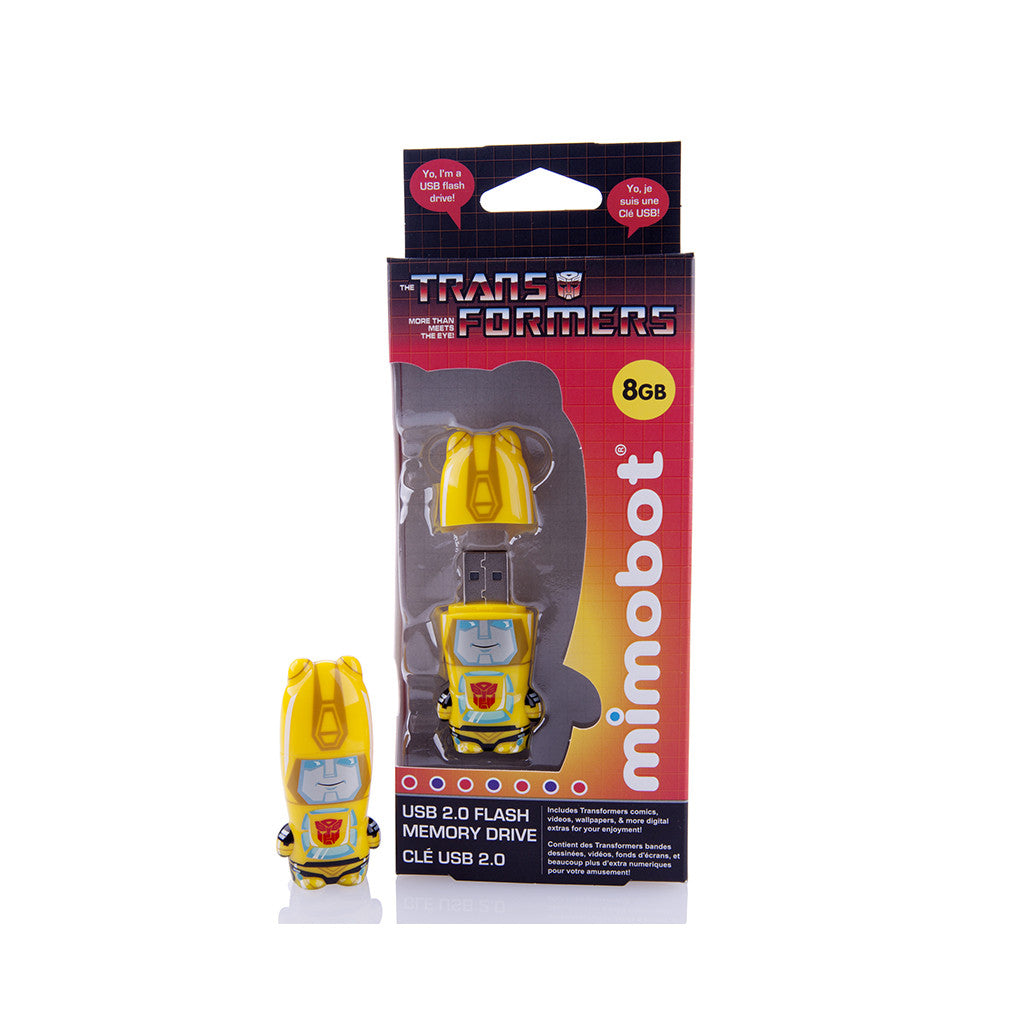<!--020120710049975-->MIMOBOT x Transformers - 'Bumblebee - 8GB' [USB Memory Drive]