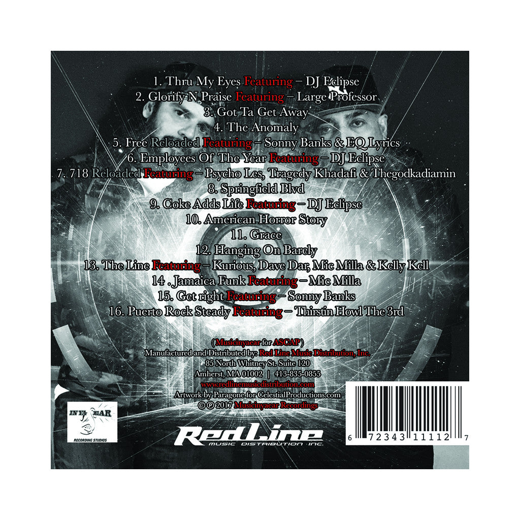 Powerule - 'The Anomaly: Reloaded' [CD]
