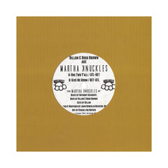 "<!--020130219054305-->Martha Knuckles - 'The Martha Knuckles EP' [(Black) 7"" Vinyl Single]"