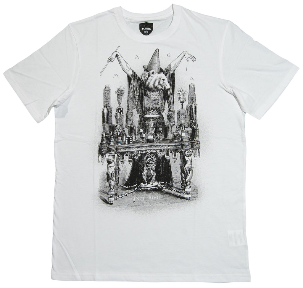 <!--2012092500-->Makia - 'Magia' [(White) T-Shirt]