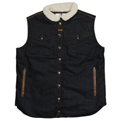Makia - 'Denim Vest' [(Dark Blue) Vest]