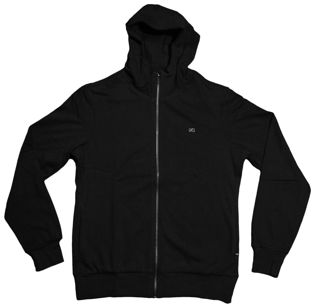 <!--2012092537-->Makia - 'Steel Flag' [(Black) Hooded Sweatshirt]