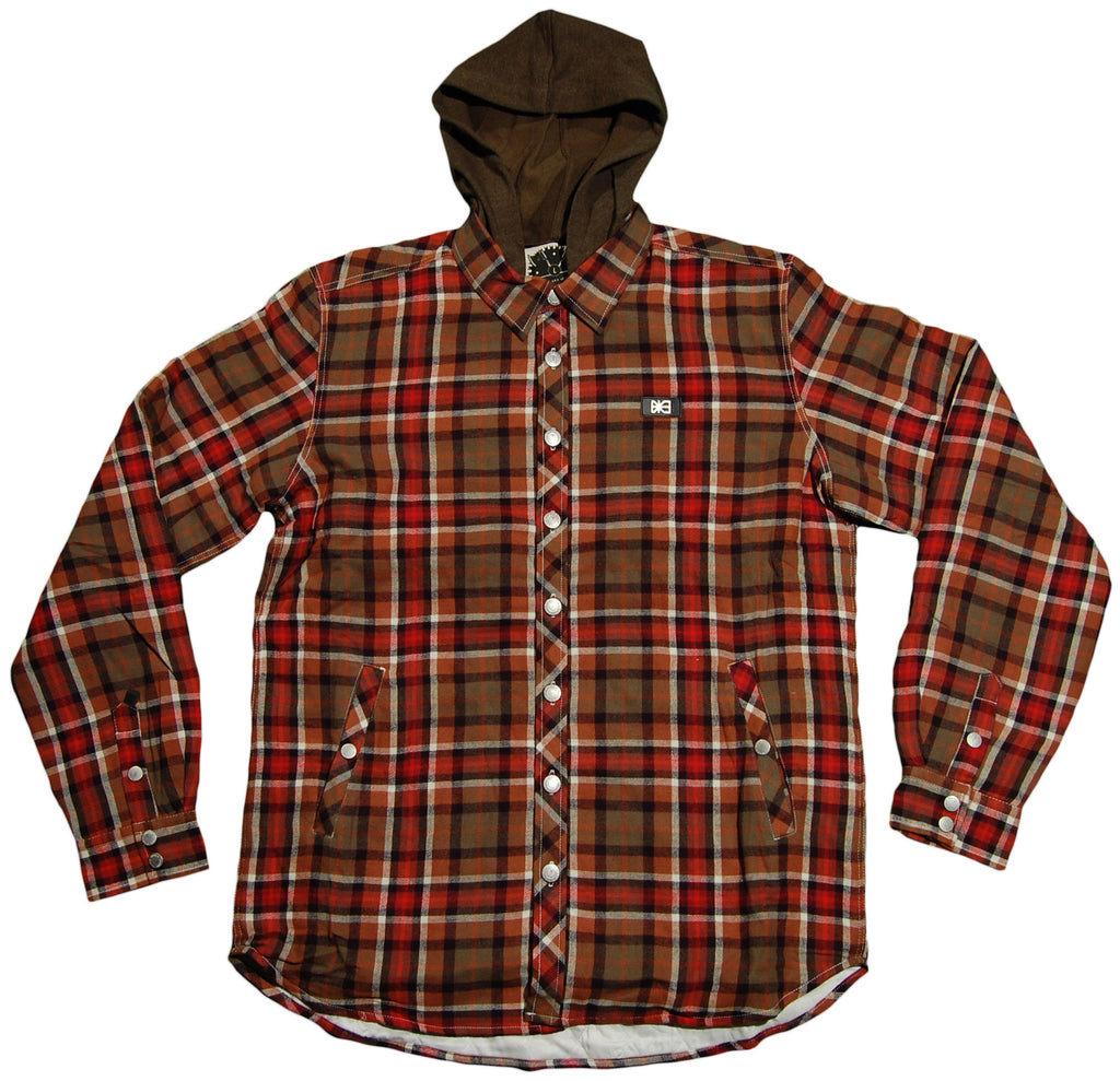 Makia - 'Logger Flannel' [(Dark Green) Jacket]