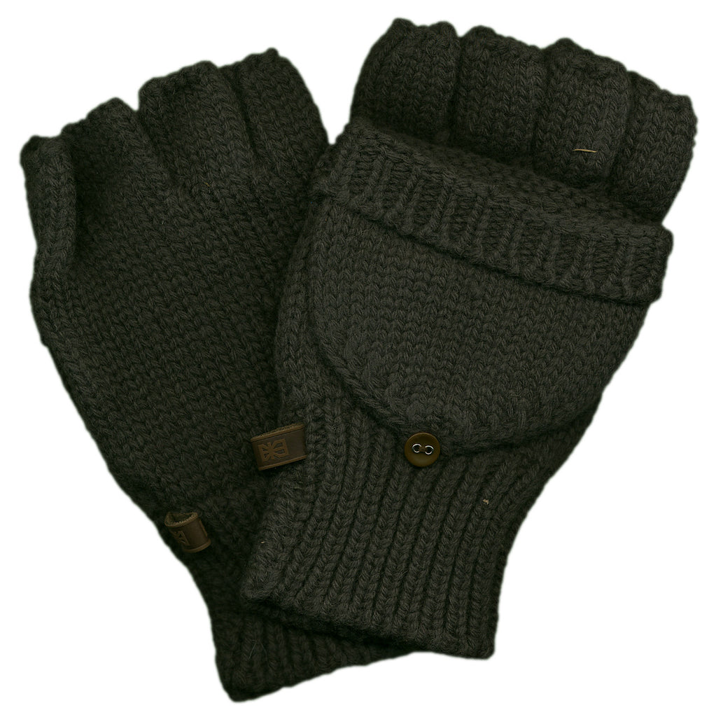<!--020120925049520-->Makia - 'Fisherman's Mittens' [(Dark Green) Gloves]