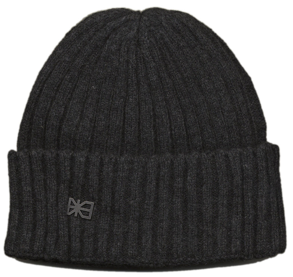<!--020120925049514-->Makia - 'Two By Two Cap' [(Dark Gray) Winter Beanie Hat]