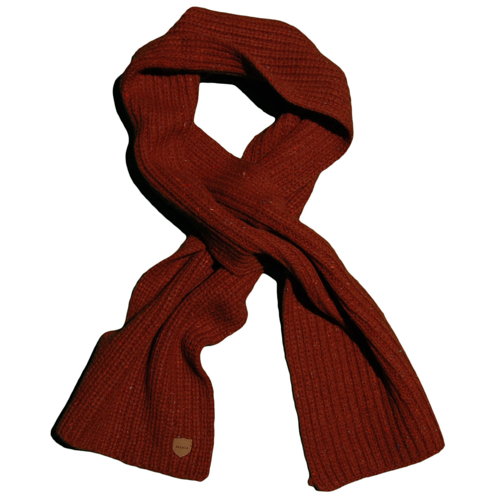 <!--020120925049518-->Makia - 'Donegal Scarf - Rust' [(Brown) Scarf]