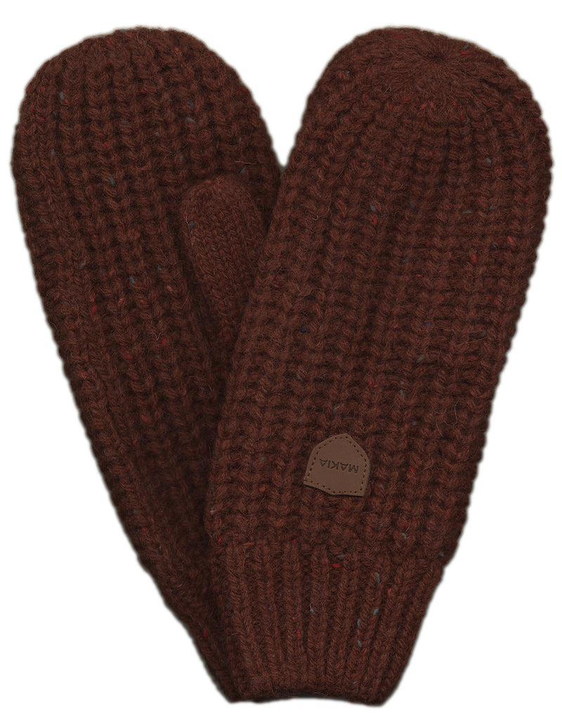 <!--020120925049522-->Makia - 'Donegal Mittens - Rust' [(Brown) Gloves]