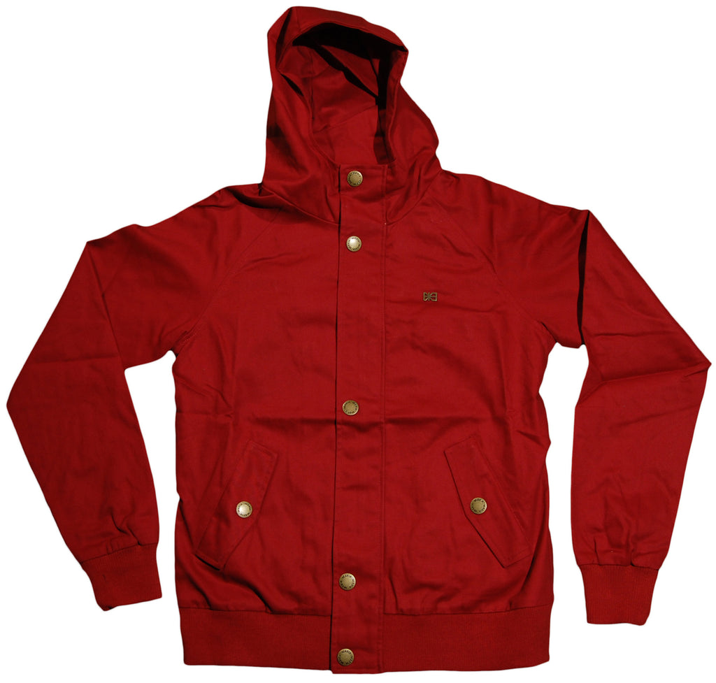 <!--2011110157-->Makia - 'Short Raglan' [(Dark Red) Jacket]