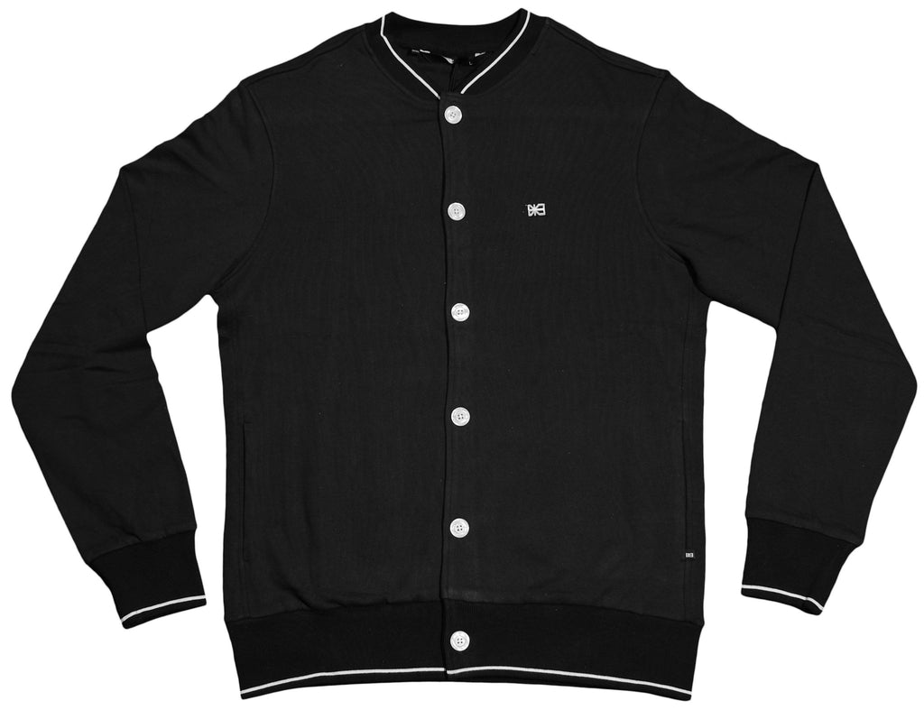 <!--2012030646-->Makia - 'Button Up Cardigan' [(Black) Sweater]