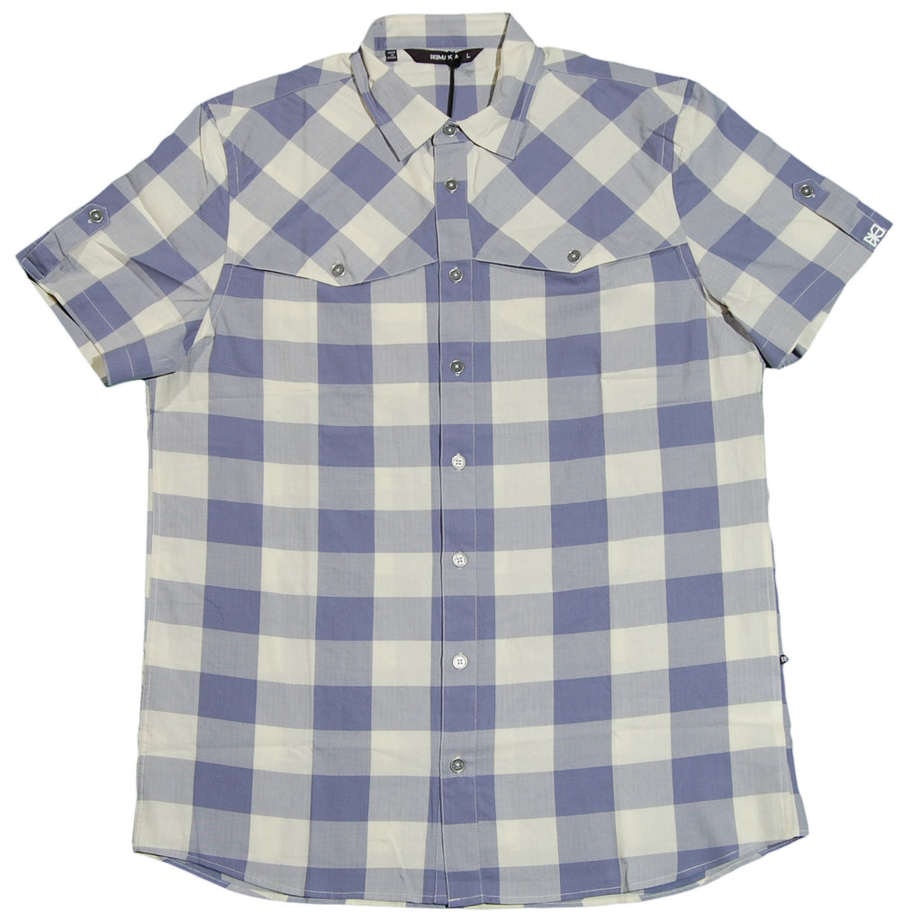 <!--2012030652-->Makia - 'Herringbone Check' [(Light Blue) Button Down Shirt]