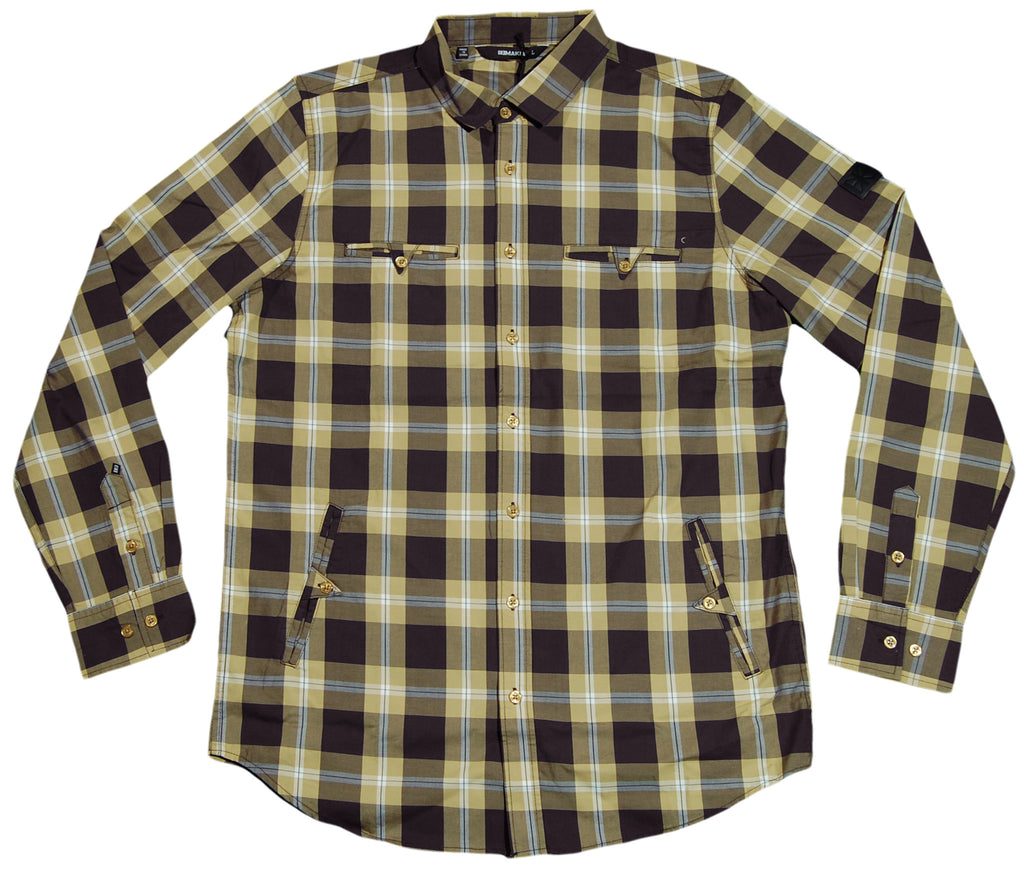<!--2012030610-->Makia - 'Combination - Antelope' [(Light Brown) Button Down Shirt]
