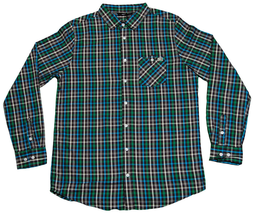 <!--2012030606-->Makia - 'Gardener' [(Green) Button Down Shirt]