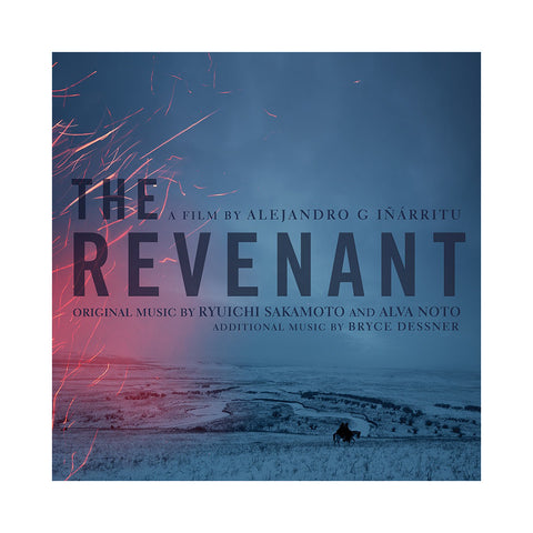 "[""Ryuichi Sakamoto & Alva Noto - 'The Revenant: Original Soundtrack' [(River Blue + Ice Snow) Vinyl [2LP]]""]"