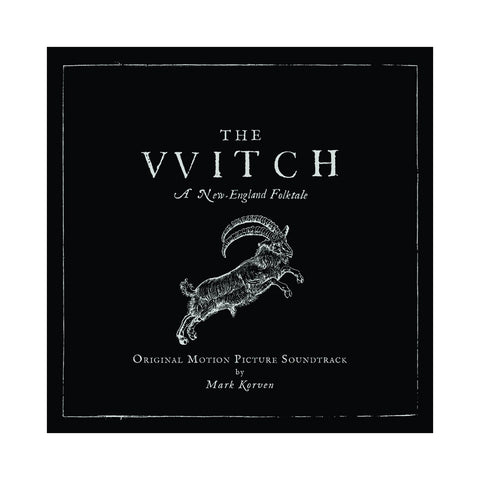Mark Korven - 'The Witch: A New England Folktale (Original Motion Picture Soundtrack)' [(Silver & Black Starburst) Vinyl [2LP]]