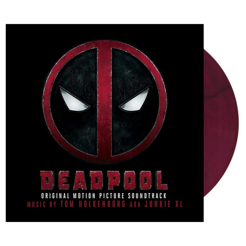 "[""Various Artists - 'Deadpool (Original Motion Picture Soundtrack)' [(Red & Black Starburst) Vinyl [2LP]]""]"