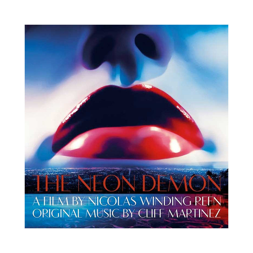 Cliff Martinez - 'The Neon Demon (Original Motion Picture Soundtrack)' [(Blue & Green) Vinyl [2LP]]