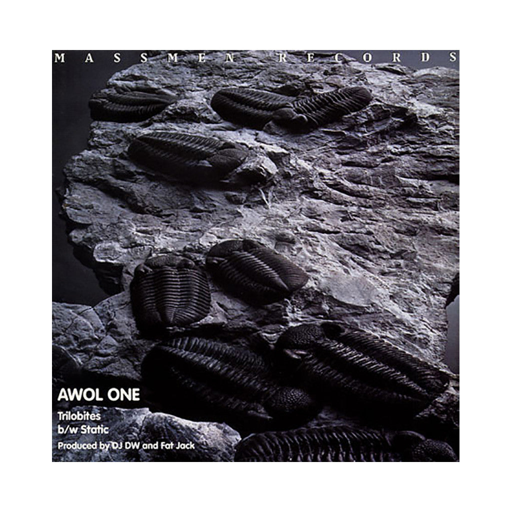"AWOL One - 'Trilobites/ Static' [(Black) 12"" Vinyl Single]"