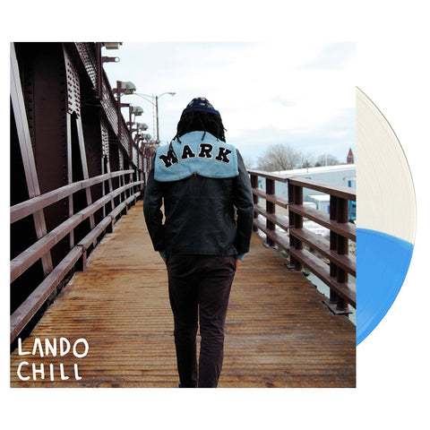 "[""Lando Chill - 'For Mark, Your Son' [(Clear & Blue) Vinyl LP]""]"