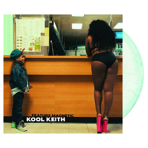 "[""Kool Keith - 'Feature Magnetic' [(Dolphin Teal Splatter) Vinyl LP]""]"