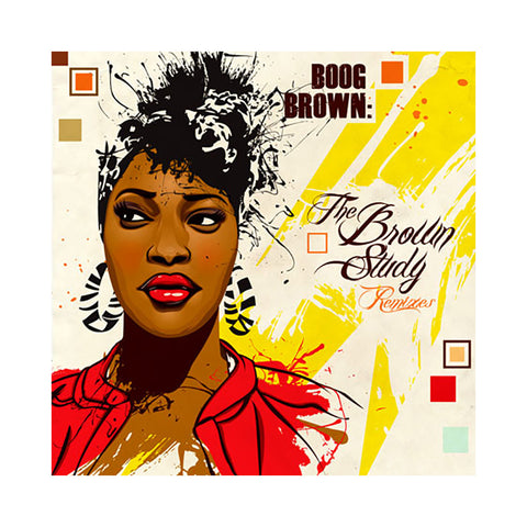 Boog Brown - 'The Brown Study Remixes' [CD]
