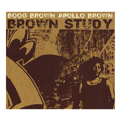Brown Study - 'Brown Study' [CD]