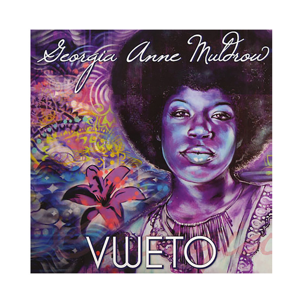 Georgia Anne Muldrow - 'VWETO' [(Purple & White) Vinyl LP]
